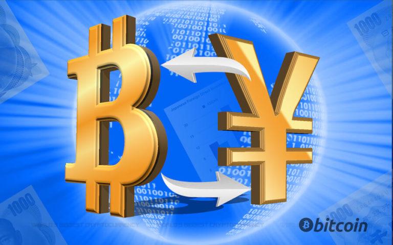 ビットコインと円